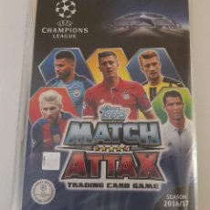 Álbum de fútbol completo: MATCH ATTAX UEFA CHAMPIONS LEAGUE 2016-17. Lote 158268762