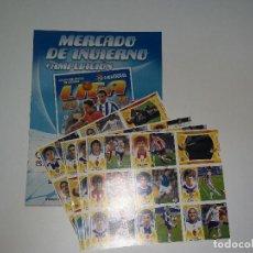 Álbum de fútbol completo: LIGA ESTE 2009-10 NERCADO DE INVIERNO. Lote 158269022