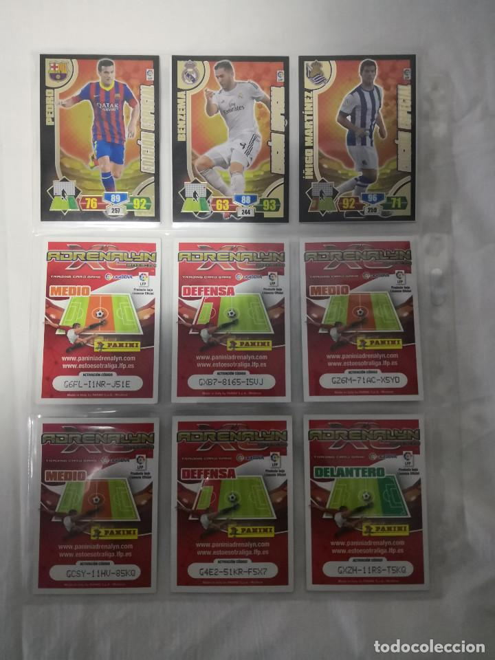Álbum de fútbol completo: ADRENALYN XL LIGA SANTANDER 2014 EDICIONES LIMITADAS (TODAS) - Foto 2 - 158269162