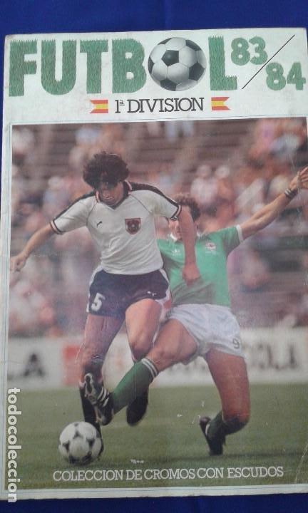 ALBUM DE CROMOS 83-84 CANO (Coleccionismo Deportivo - Álbumes y Cromos de Deportes - Álbumes de Fútbol Completos)
