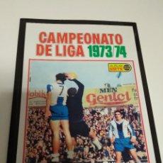 Álbum de fútbol completo: CAMPEONATO DE LIGA 1973/74. Lote 158286794