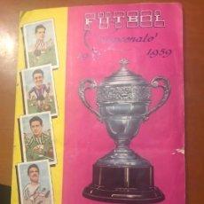 Álbum de fútbol completo: FUTBOL CAMPEONATO 1958 1959 COMPLETO. Lote 158444922