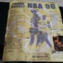 Álbum de fútbol completo: NBA BASKET 90, PANINI, ALBUN COMPLETO, VER CONDICIONES DE CONSERVACION. Lote 159292130