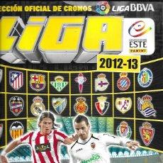 Álbum de fútbol completo: LIGA 2012-2013. COLECCIONES ESTE/PANINI. COMPLETO. Lote 159528316