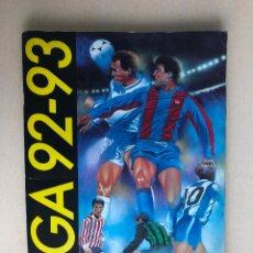 Caderneta de futebol completa: ALBUM LIGA ESTE FUTBOL 92-93 MUY COMPLETO 1992-1993 CON 442 CROMOS EXCELENTE ESTADO. Lote 159754150