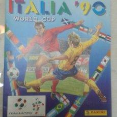 Álbum de fútbol completo: ALBUM FUTBOL COMPLETO WORLD CUP ITALIA 90 PANINI. Lote 159938062