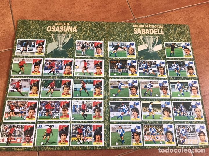 Álbum de fútbol completo: Álbum Ediciones Este 86-87 Completo Muchos dobles 1986-87 - Foto 9 - 160054432