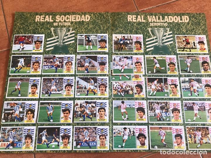 Álbum de fútbol completo: Álbum Ediciones Este 86-87 Completo Muchos dobles 1986-87 - Foto 11 - 160054432