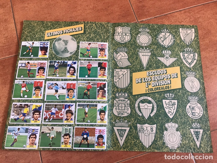 Álbum de fútbol completo: Álbum Ediciones Este 86-87 Completo Muchos dobles 1986-87 - Foto 14 - 160054432