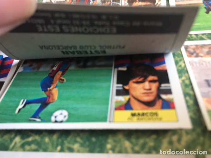 Álbum de fútbol completo: Álbum Ediciones Este 86-87 Completo Muchos dobles 1986-87 - Foto 15 - 160054432