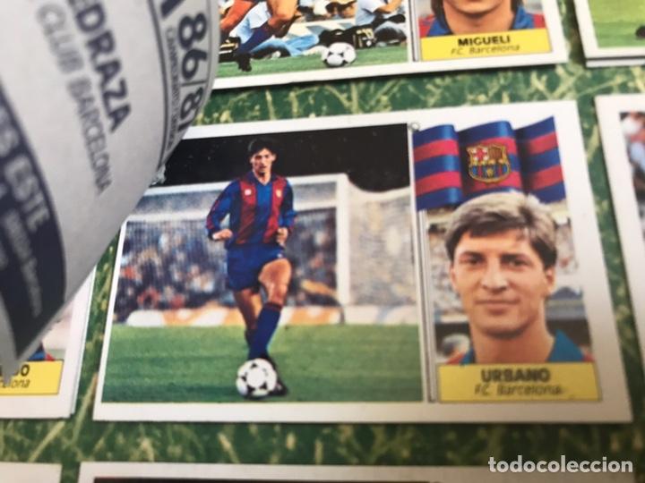 Álbum de fútbol completo: Álbum Ediciones Este 86-87 Completo Muchos dobles 1986-87 - Foto 17 - 160054432
