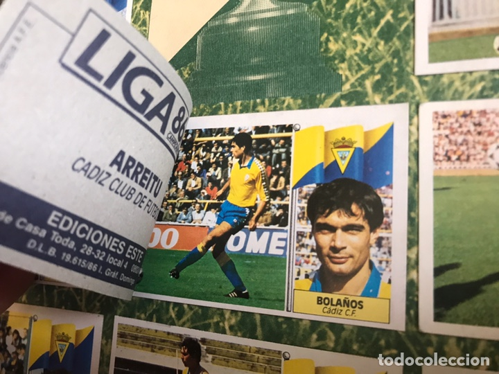 Álbum de fútbol completo: Álbum Ediciones Este 86-87 Completo Muchos dobles 1986-87 - Foto 27 - 160054432