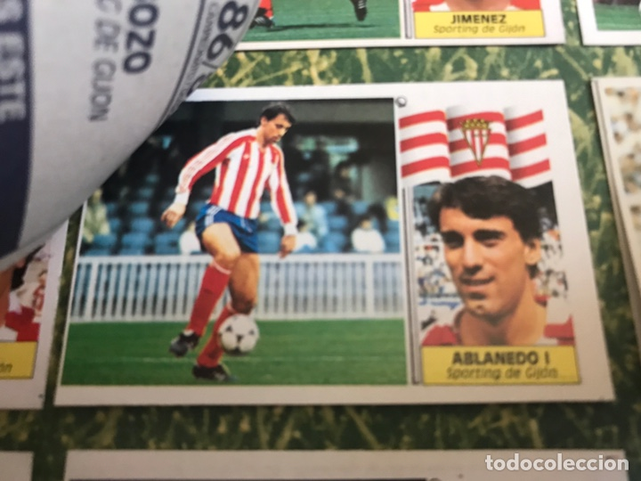 Álbum de fútbol completo: Álbum Ediciones Este 86-87 Completo Muchos dobles 1986-87 - Foto 31 - 160054432