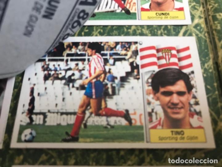 Álbum de fútbol completo: Álbum Ediciones Este 86-87 Completo Muchos dobles 1986-87 - Foto 34 - 160054432