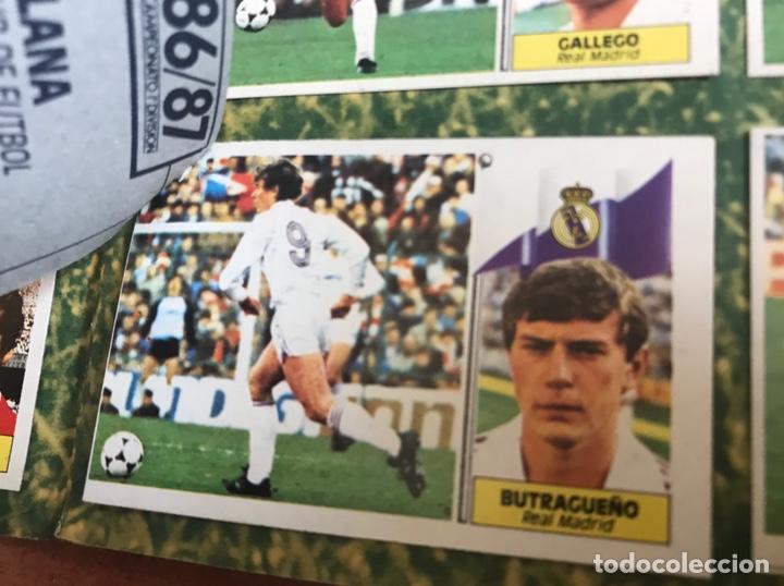Álbum de fútbol completo: Álbum Ediciones Este 86-87 Completo Muchos dobles 1986-87 - Foto 40 - 160054432