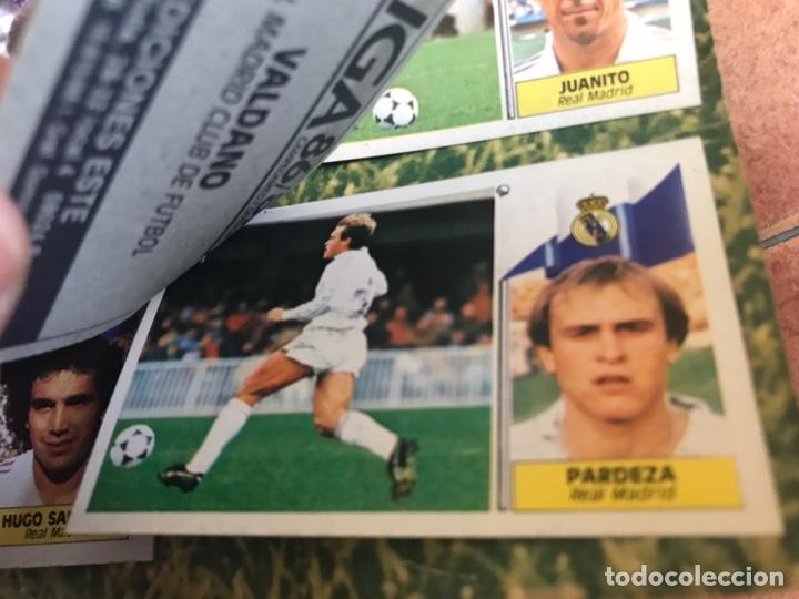 Álbum de fútbol completo: Álbum Ediciones Este 86-87 Completo Muchos dobles 1986-87 - Foto 41 - 160054432