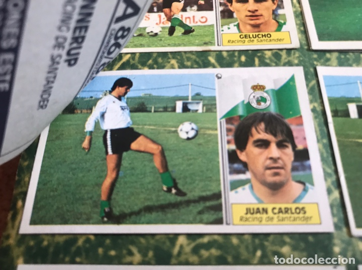 Álbum de fútbol completo: Álbum Ediciones Este 86-87 Completo Muchos dobles 1986-87 - Foto 49 - 160054432