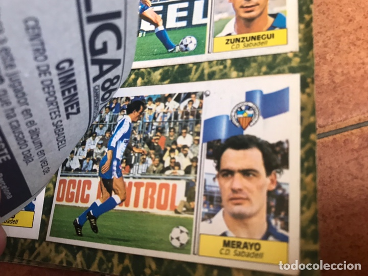 Álbum de fútbol completo: Álbum Ediciones Este 86-87 Completo Muchos dobles 1986-87 - Foto 50 - 160054432