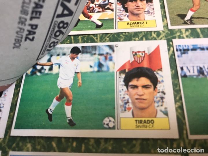 Álbum de fútbol completo: Álbum Ediciones Este 86-87 Completo Muchos dobles 1986-87 - Foto 53 - 160054432