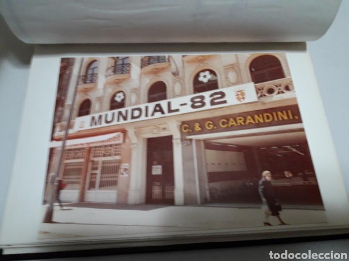 Álbum de fútbol completo: Album completo y único del mundial de España en fotos originales - Foto 2 - 115025054