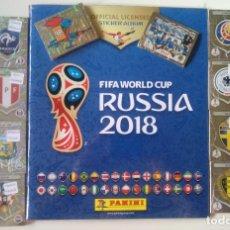 Álbum de fútbol completo: COLECCIÓN COMPLETA PANINI MUNDIAL RUSIA 2018 FIFA WORLD CUP. Lote 161026362