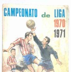 Álbum de fútbol completo: ALBUM 1970 1971 FHER CAMPEONATO DE LIGA 70 71 COMPLETO. Lote 161179686