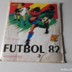 Álbum de fútbol completo: ALBUM CROMOS FUTBOL 82- 1°Y 2°DIVISIÓN- FIGURINE PANINI,COMPLETO. Lote 161702558