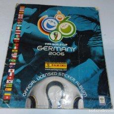 Álbum de fútbol completo: ALBUM COMPLETO. GERMANY 2006. FIFA WORLD CUP. PANINI. BUEN ESTADO. VER FOTOS.. Lote 162163550