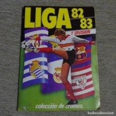 Álbum de fútbol completo: ALBUM CROMOS COMPLETO ESTE LIGA 82/83 MÁS ALGÚN CROMO SUELTO.. Lote 162324950