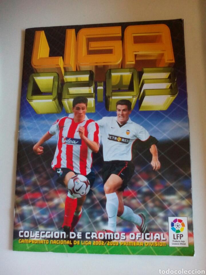 ÁLBUM FUTBOL EDICIONES ESTE LIGA 2002 2003 COMPLETO (Coleccionismo Deportivo - Álbumes y Cromos de Deportes - Álbumes de Fútbol Completos)