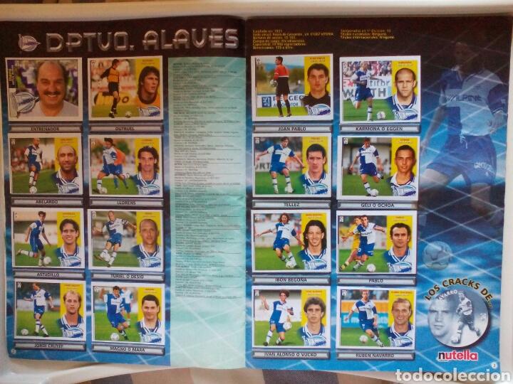 Álbum de fútbol completo: ÁLBUM FUTBOL EDICIONES ESTE LIGA 2002 2003 COMPLETO - Foto 3 - 194235956