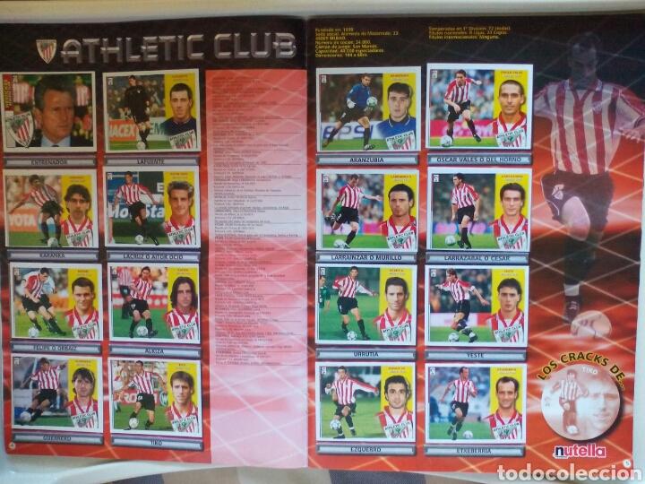 Álbum de fútbol completo: ÁLBUM FUTBOL EDICIONES ESTE LIGA 2002 2003 COMPLETO - Foto 4 - 194235956