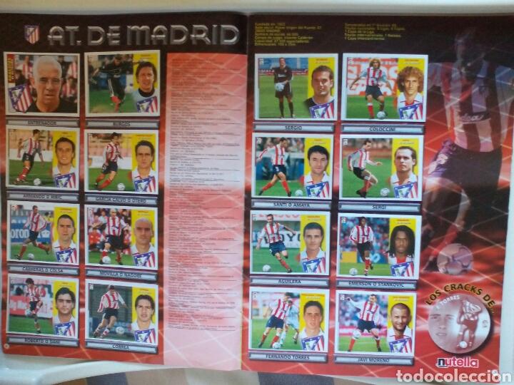 Álbum de fútbol completo: ÁLBUM FUTBOL EDICIONES ESTE LIGA 2002 2003 COMPLETO - Foto 5 - 194235956