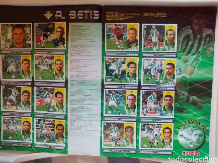 Álbum de fútbol completo: ÁLBUM FUTBOL EDICIONES ESTE LIGA 2002 2003 COMPLETO - Foto 7 - 194235956