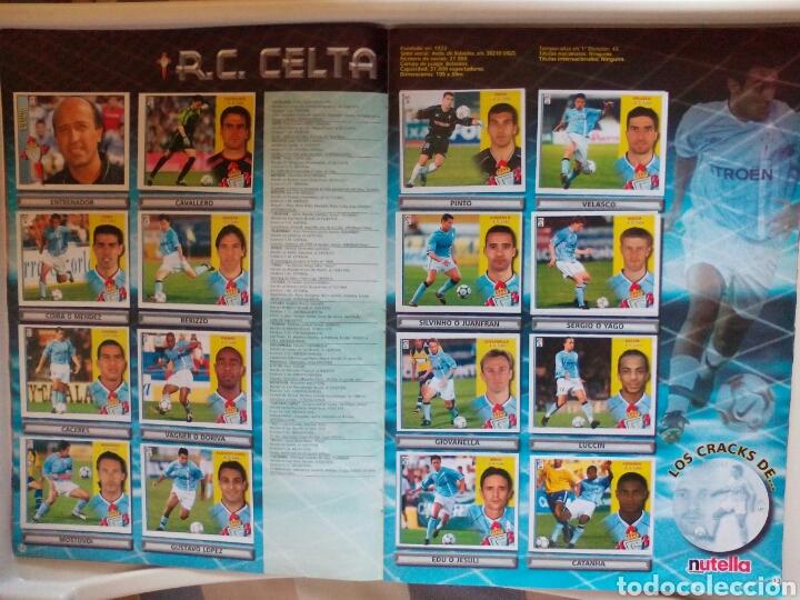 Álbum de fútbol completo: ÁLBUM FUTBOL EDICIONES ESTE LIGA 2002 2003 COMPLETO - Foto 8 - 194235956