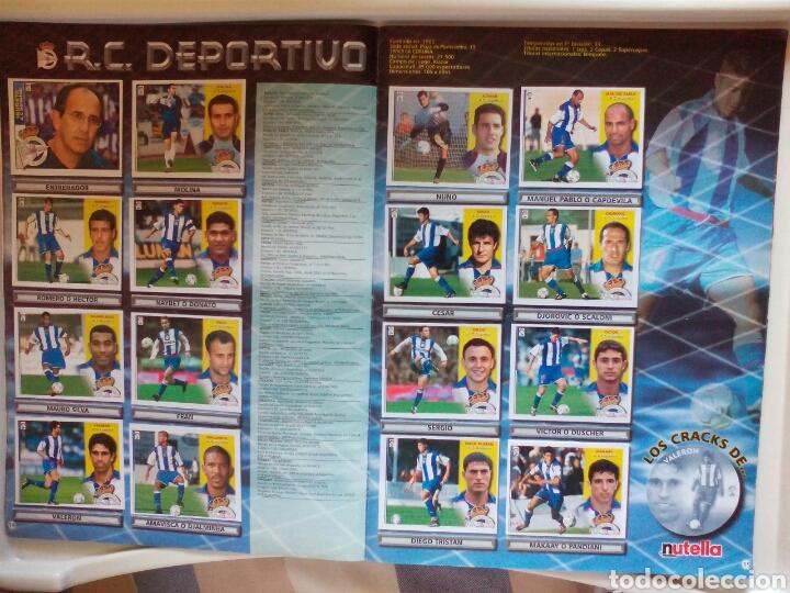 Álbum de fútbol completo: ÁLBUM FUTBOL EDICIONES ESTE LIGA 2002 2003 COMPLETO - Foto 9 - 194235956