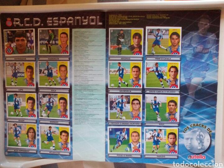 Álbum de fútbol completo: ÁLBUM FUTBOL EDICIONES ESTE LIGA 2002 2003 COMPLETO - Foto 10 - 194235956