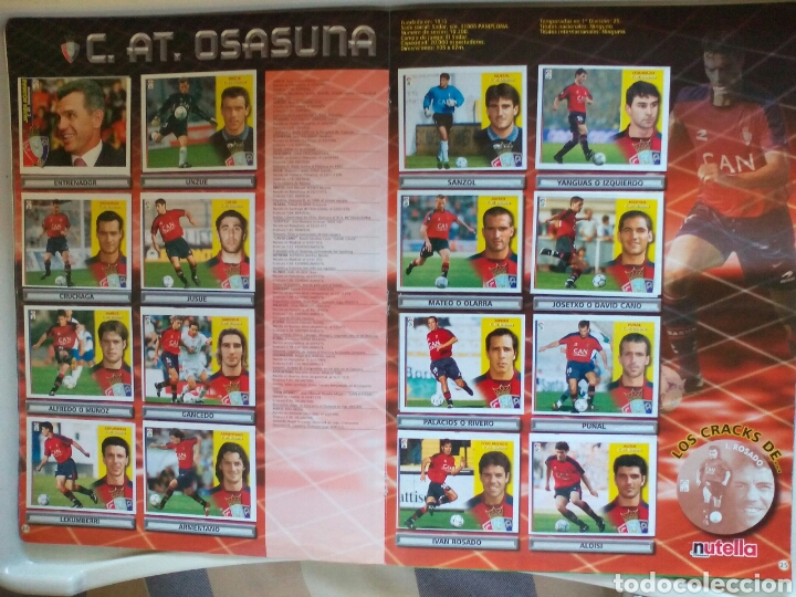 Álbum de fútbol completo: ÁLBUM FUTBOL EDICIONES ESTE LIGA 2002 2003 COMPLETO - Foto 14 - 194235956