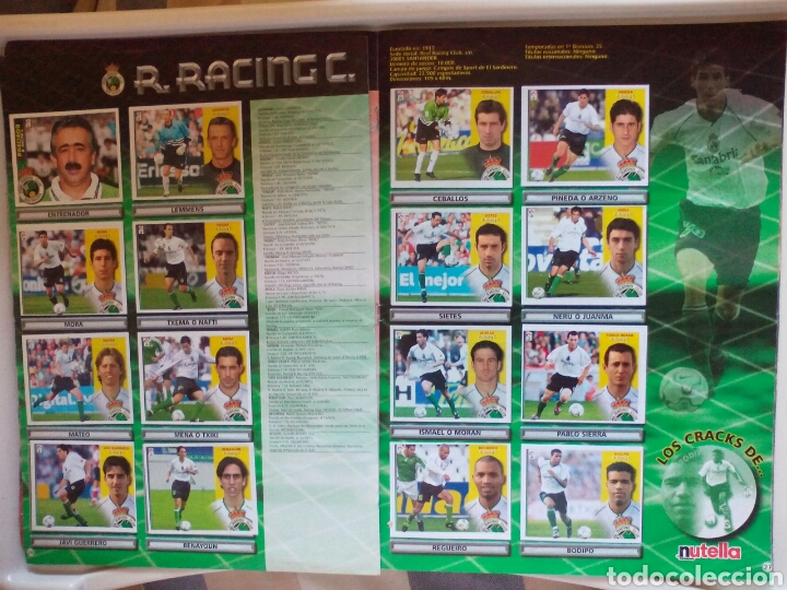Álbum de fútbol completo: ÁLBUM FUTBOL EDICIONES ESTE LIGA 2002 2003 COMPLETO - Foto 15 - 194235956
