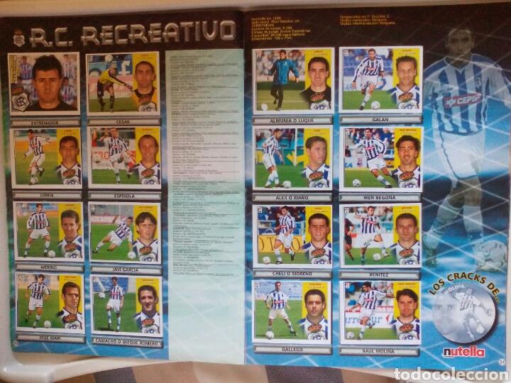 Álbum de fútbol completo: ÁLBUM FUTBOL EDICIONES ESTE LIGA 2002 2003 COMPLETO - Foto 17 - 194235956