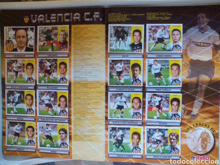 Álbum de fútbol completo: ÁLBUM FUTBOL EDICIONES ESTE LIGA 2002 2003 COMPLETO - Foto 20 - 194235956
