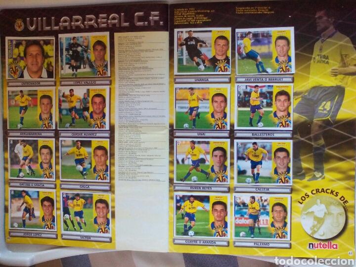 Álbum de fútbol completo: ÁLBUM FUTBOL EDICIONES ESTE LIGA 2002 2003 COMPLETO - Foto 22 - 194235956