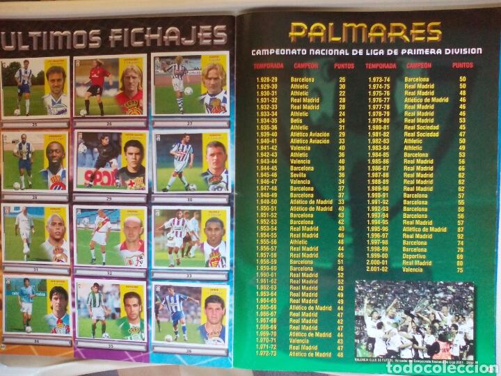 Álbum de fútbol completo: ÁLBUM FUTBOL EDICIONES ESTE LIGA 2002 2003 COMPLETO - Foto 24 - 194235956