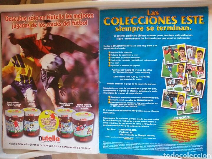 Álbum de fútbol completo: ÁLBUM FUTBOL EDICIONES ESTE LIGA 2002 2003 COMPLETO - Foto 25 - 194235956