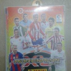 Álbum de fútbol completo: ALBUM FUTBOL LIGA SANTANDER ADRENALYN 2016 2017 COLECCION COMPLETA. Lote 162574570