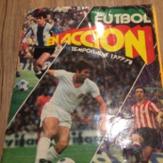 Álbum de fútbol completo: 339 CROMOS-COMPLETO- FUTBOL EN ACCIÓN PACOSA 1977/78. Lote 162986144