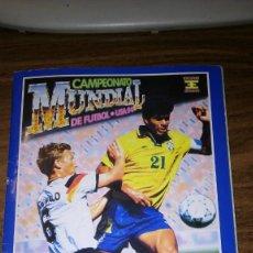 Caderneta de futebol completa: ALBUM CAMPEONATO MUNDIAL DE FÚTBOL USA 94 (EDICIONES ESTADIO) - COMPLETO (445 CROMOS). Lote 163716986