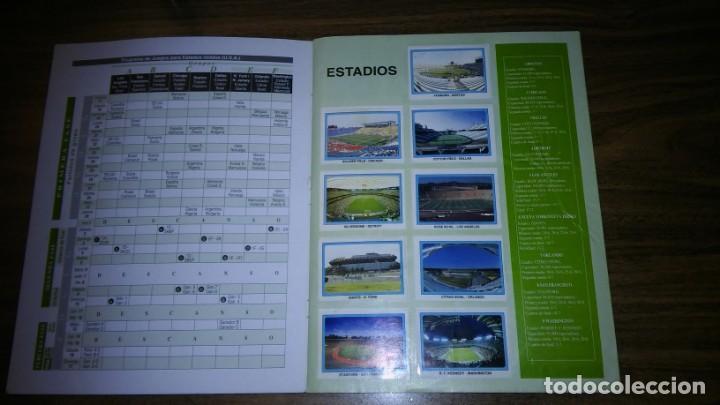 Álbum de fútbol completo: ALBUM CAMPEONATO MUNDIAL DE FÚTBOL USA 94 (EDICIONES ESTADIO) - COMPLETO (445 CROMOS) - Foto 2 - 163716986