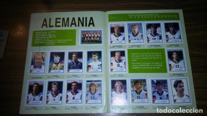 Álbum de fútbol completo: ALBUM CAMPEONATO MUNDIAL DE FÚTBOL USA 94 (EDICIONES ESTADIO) - COMPLETO (445 CROMOS) - Foto 3 - 163716986