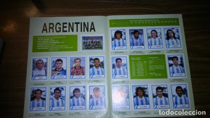 Álbum de fútbol completo: ALBUM CAMPEONATO MUNDIAL DE FÚTBOL USA 94 (EDICIONES ESTADIO) - COMPLETO (445 CROMOS) - Foto 4 - 163716986